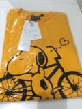 """SNOOPY LOVES BMX"" S/S PRINT TEE - SALE!!!"