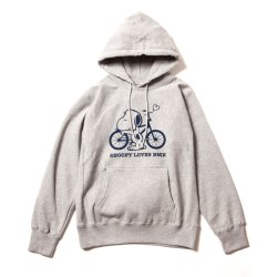 "画像1: 430 ""SNOOPY LOVES BMX"" PULLOVER PARKA"